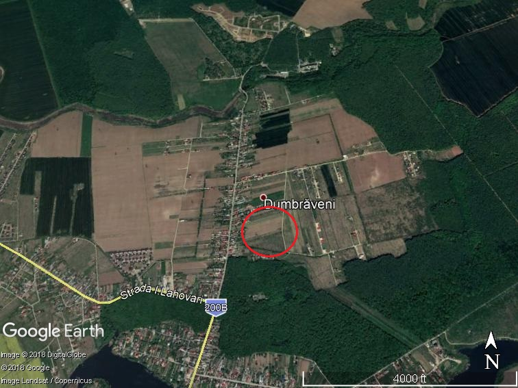 Land for sale: 7,400 sqm – Balotesti