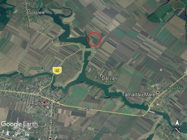 Land for sale:  42.286 sqm – Fundulea – Calarasi