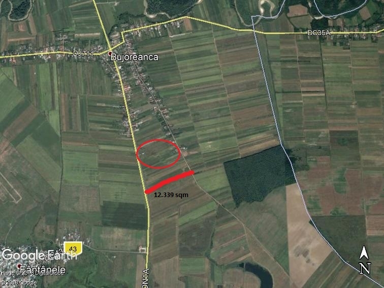 Lands for sale: Cornesti, Dambovita